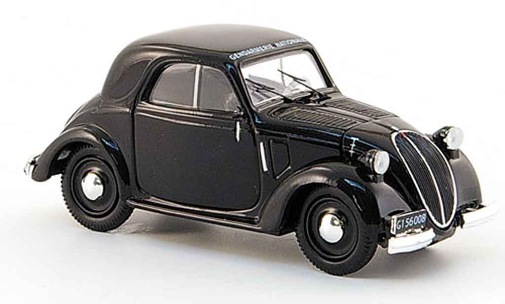 Simca 5 1/43 Norev coupe gendarmerie police 1945 diecast