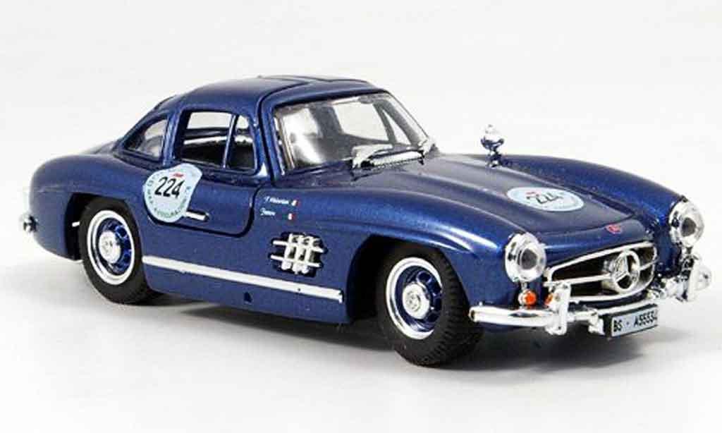 Mercedes 300 SL 1/43 Bang No.224 Varseriati Favero Mille Miglia miniature