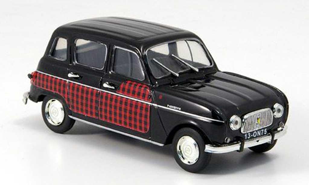 Renault 4 Parisienne 1/43 Vitesse noire/rouge  miniature