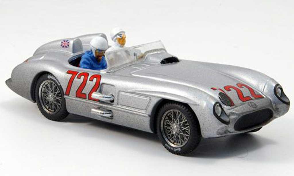 Mercedes 300 SLR 1/43 Brumm No.722 Moss/Jenkinson Mille Miglia 1955 miniature