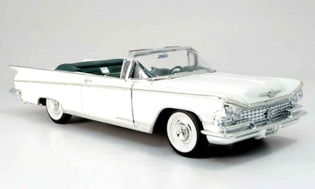 Buick Electra 1/18 Yat Ming 225 convertible blanche 1959 miniature