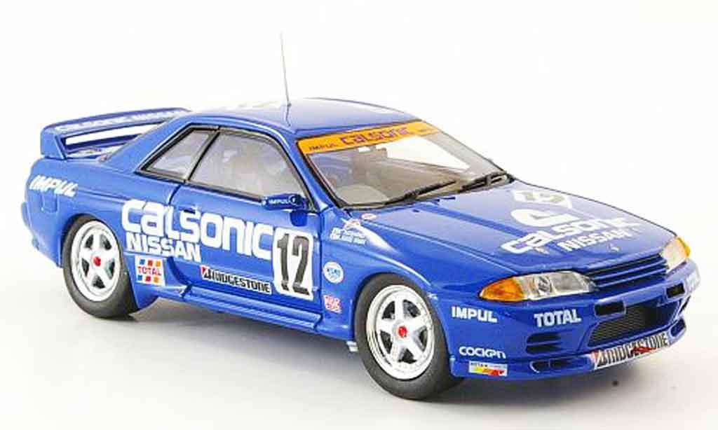 Nissan Skyline R32 1/43 Ebbro GT R No.12 Calsonic Gruppe A 1993 miniature
