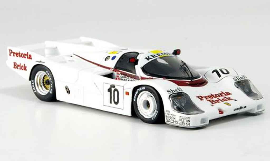 Porsche 956 1985 1/43 Spark No.10 Funfter Le Mans miniature