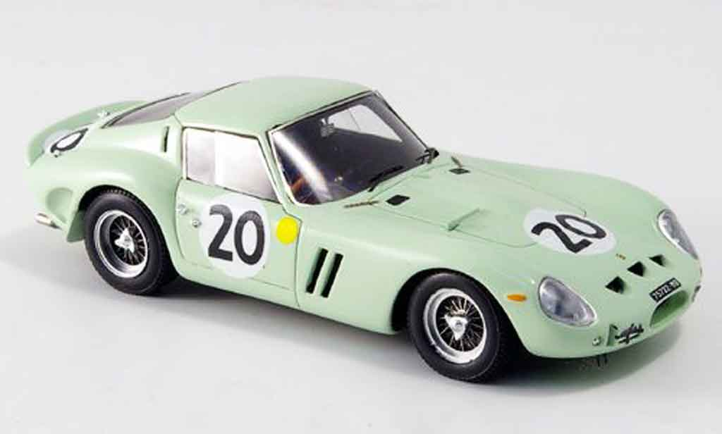 Ferrari 250 GTO 1962 1/43 Red Line no.20 ireland gregory le mans miniature