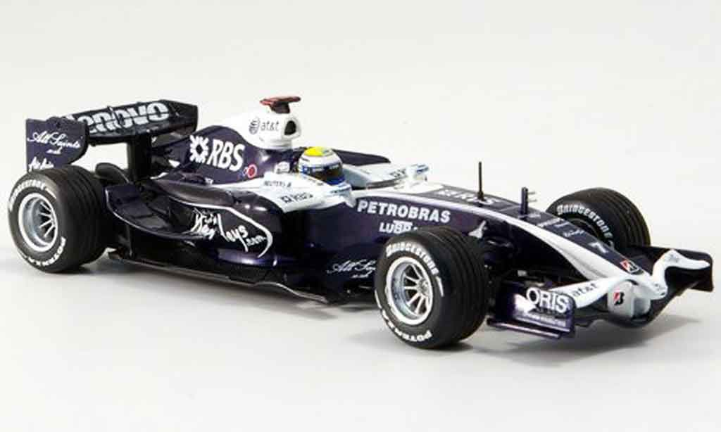 Toyota F1 1/43 Minichamps williams showcar nico rosberg 2008 miniature
