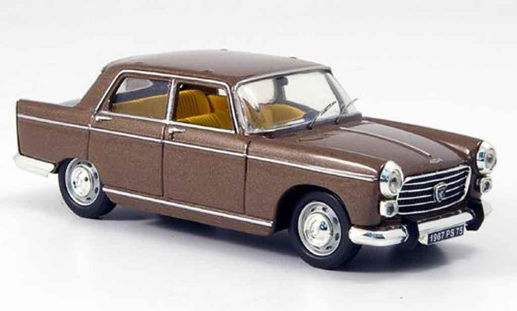Peugeot 404 Berline 1/43 Vitesse marron limousine miniature