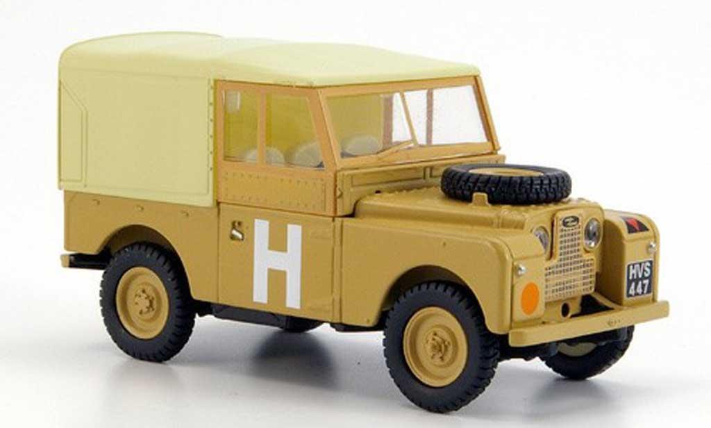Land Rover 88 1/43 Oxford Series 1 sandfarben Militar Kasten miniature