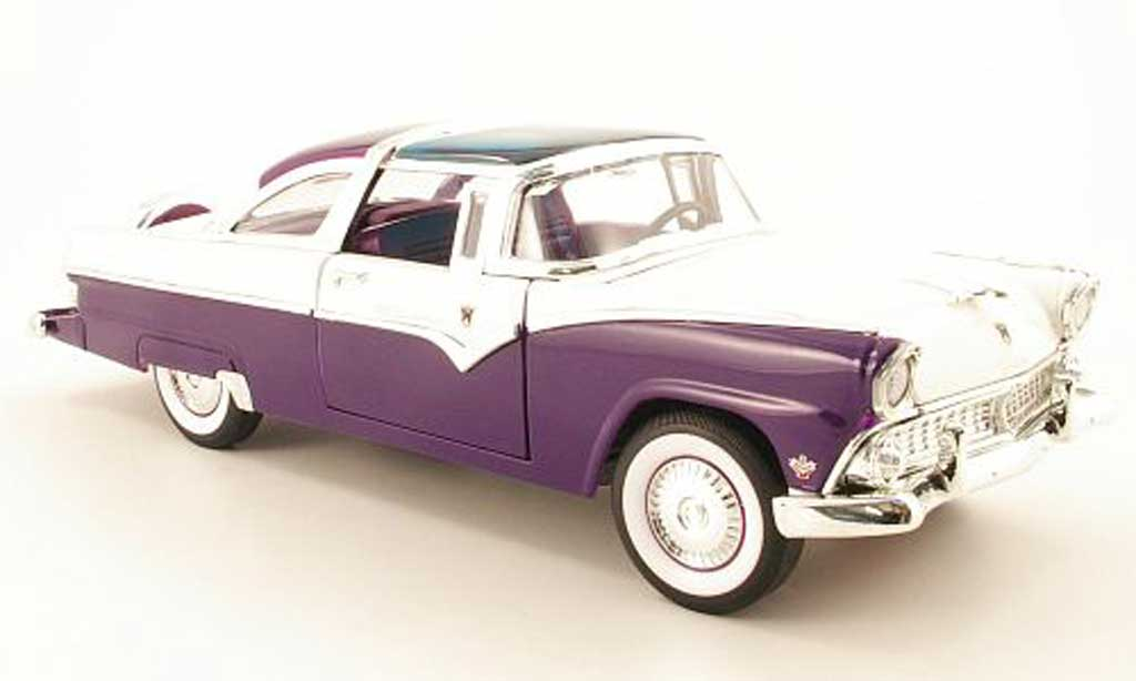 Ford Crown 1955 1/18 Yat Ming 1955 victoria lila/white 1955 diecast model cars