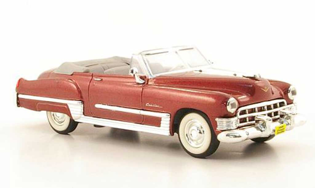 Cadillac Deville 1949 1/43 Yat Ming Coupe red diecast