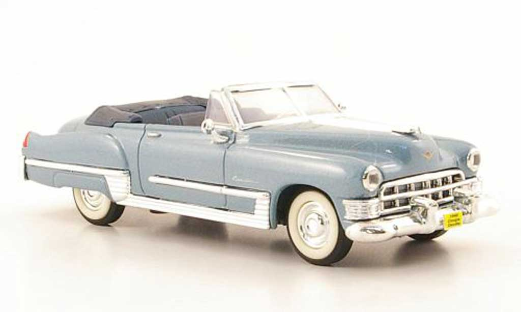 Cadillac Deville 1949 1/43 Yat Ming 1949 Coupe grey blue diecast model cars
