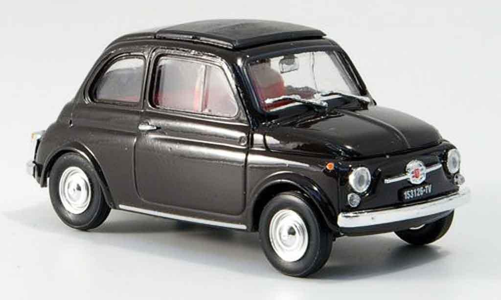 Fiat 500 1/43 Brumm F marron avec capote Faltdach 1965 miniature