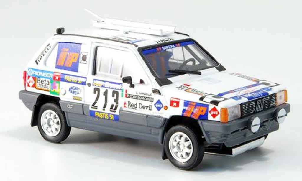 Fiat Panda 1/43 Brumm 4x4 No.213 Rallye Paris Dakar 1984 miniature