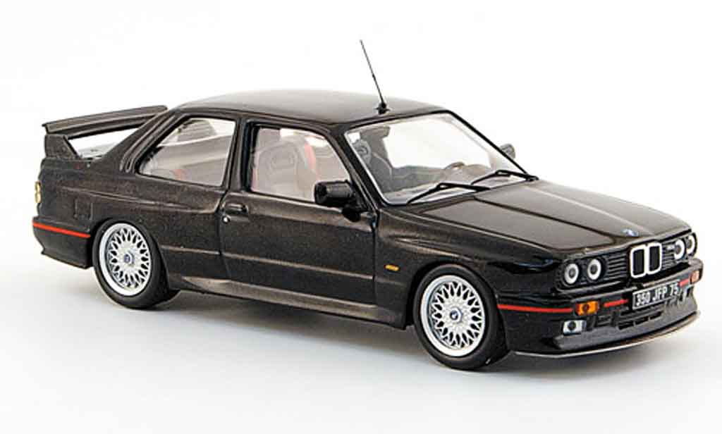 Bmw M3 E30 1/43 IXO Sport Evolution black 1990 diecast model cars