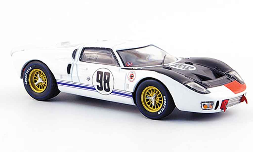 Ford GT 40 1/43 IXO GT40 MKII No.98 Miles Ruby Sieger 24H Daytona 1966 miniature