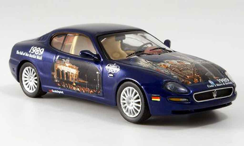 Maserati Cambiocorsa coupe 1/43 IXO bleu 90. geburtstag 2002