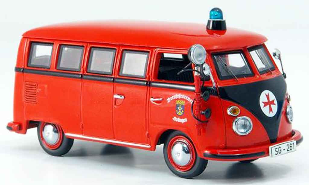 Volkswagen Combi 1/43 Schuco t 1 bus berufspompier solingen miniature