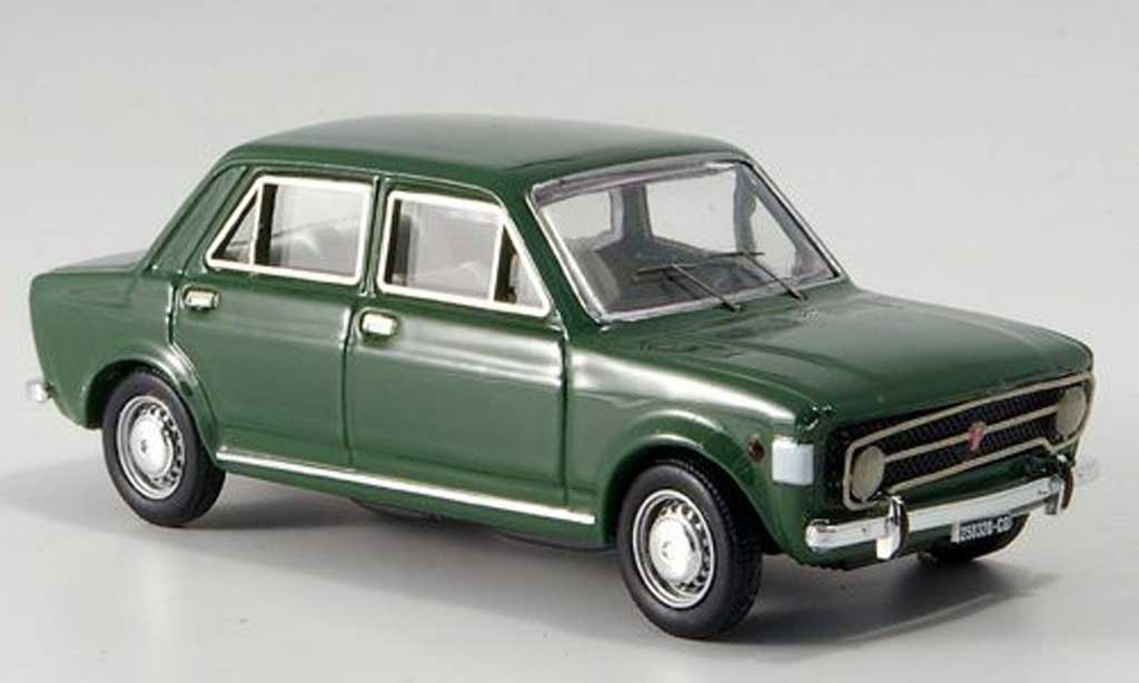 Fiat 128 1/43 Rio Rally 4-turer verte 1969 miniature