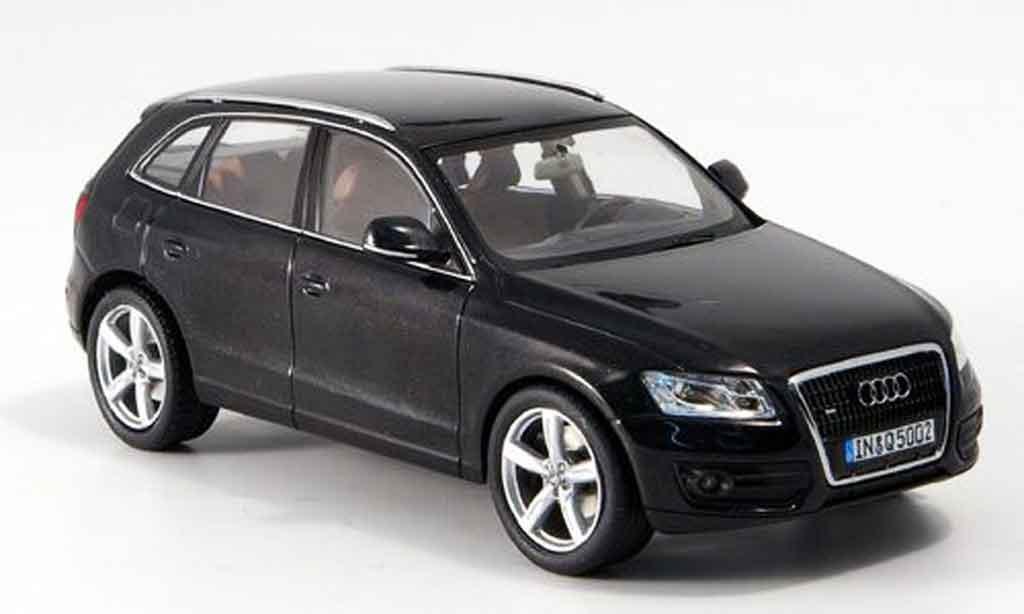 Audi Q5 1/43 Schuco noire 2008 miniature
