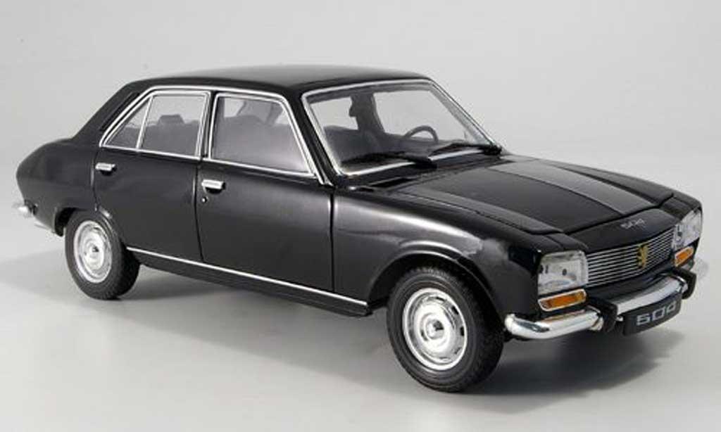 Peugeot 504 Berline 1/18 Welly black 1975 diecast