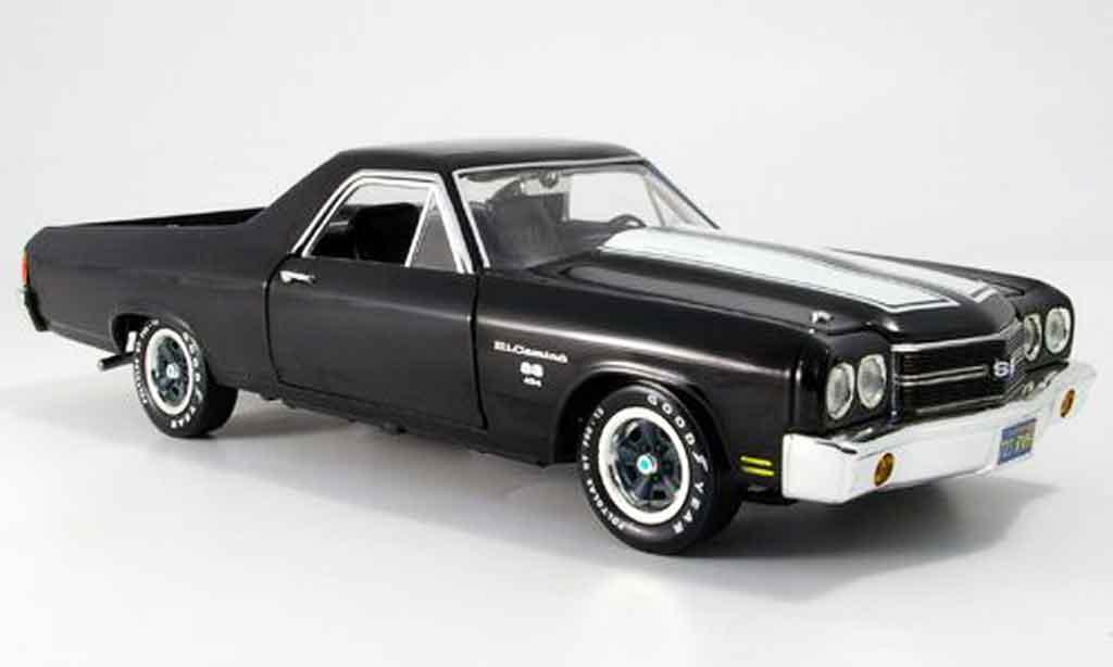 Chevrolet El Camino 1/18 Ertl ss noire 1970 miniature