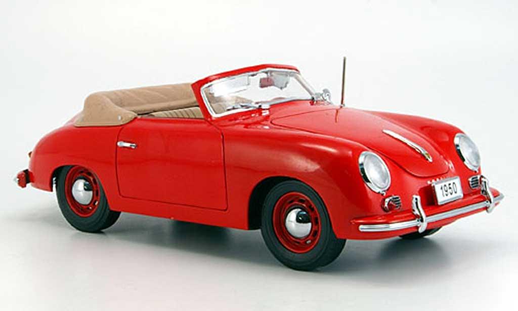 Porsche 356 1950 1/18 Signature cabriolet rouge (premium) miniature