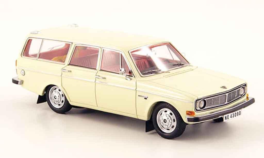 Volvo 145 1/43 Neo white 1971 diecast