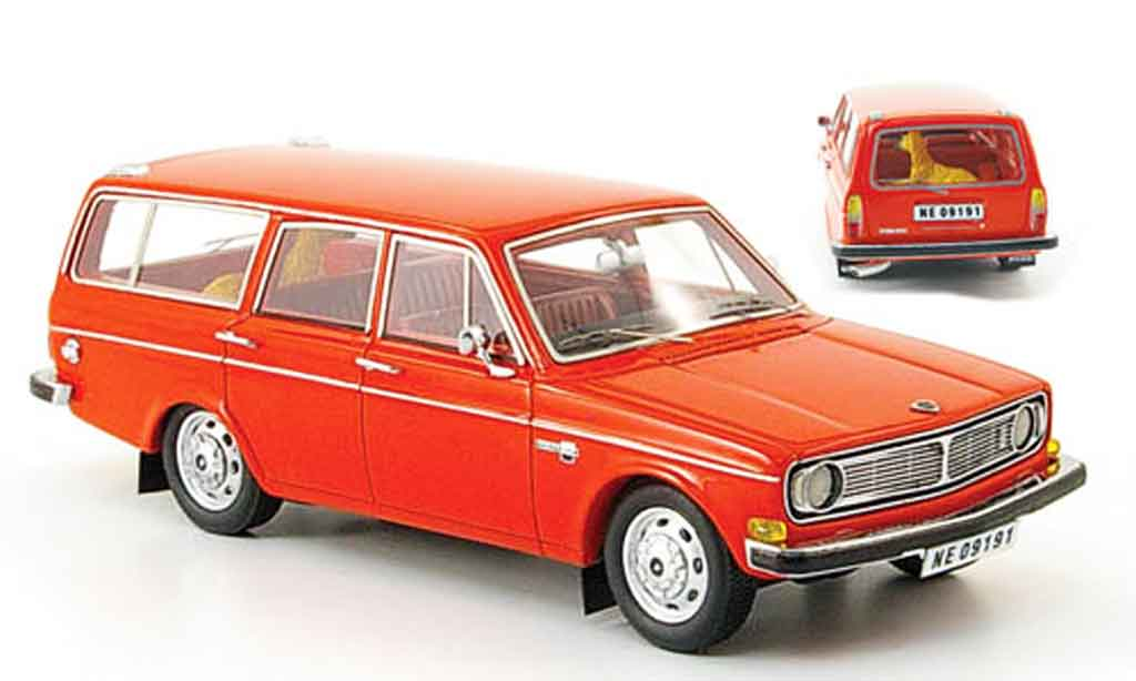 Volvo 145 1/43 Neo rouge orange 1971 miniature