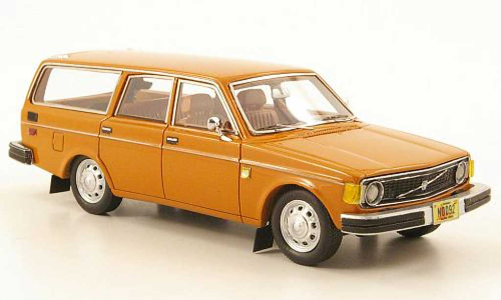 Volvo 145 1/43 Neo orange US-Version 1971 miniature