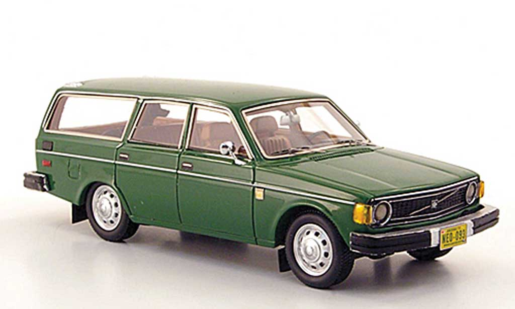 Volvo 145 1/43 Neo grun US-Version 1971 miniature