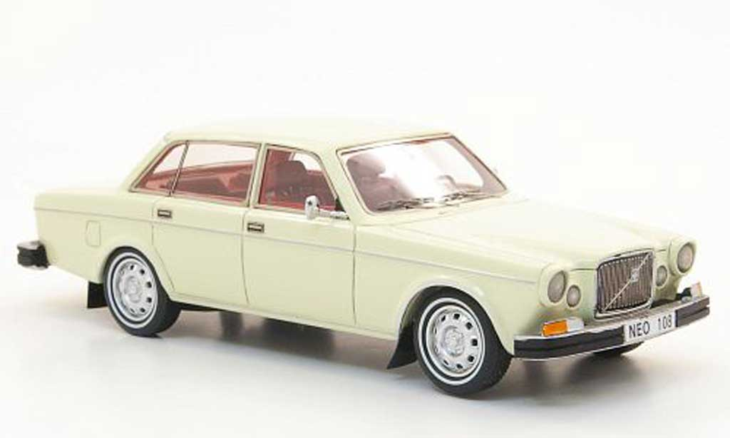Volvo 164 1/43 Neo beige US-Version 1969 miniature