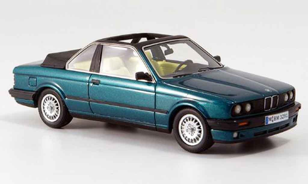 Bmw 320 E30 1/43 Neo i (E 30) Baur Cabriolet verte 1986