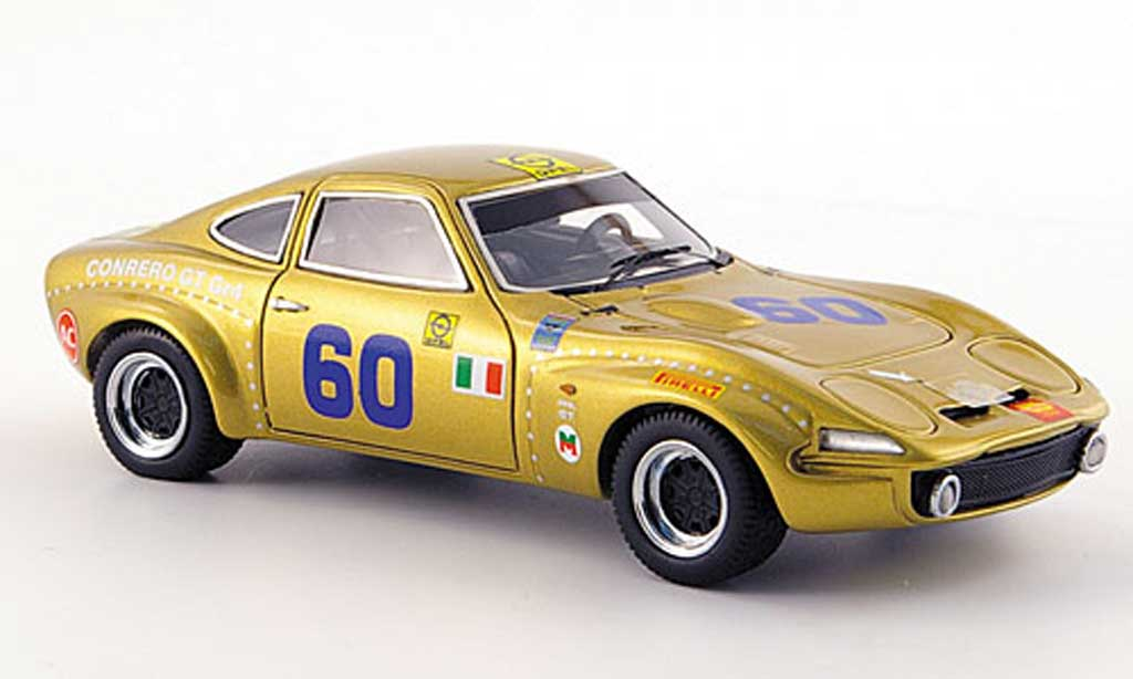 Opel GT 1/43 Neo No.60 Conrero Gr.4 Targa Florio 1971 miniature