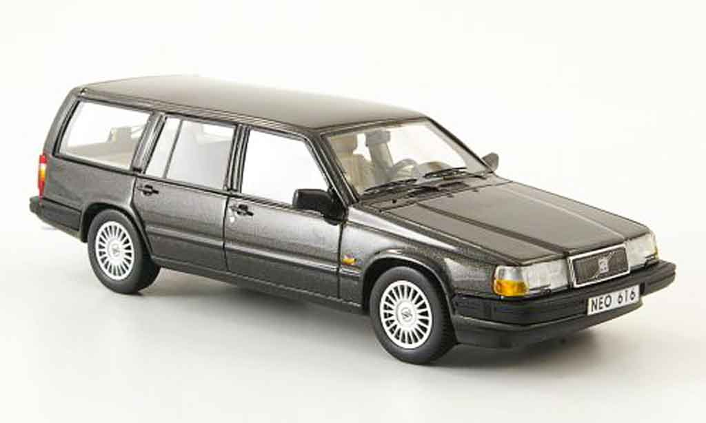 Volvo 940 1/43 Neo GLE Estate anthrazit 1992 miniature