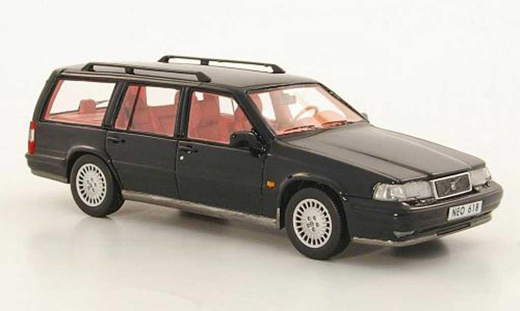 Volvo 960 1/43 Neo Estate noire 1996 miniature