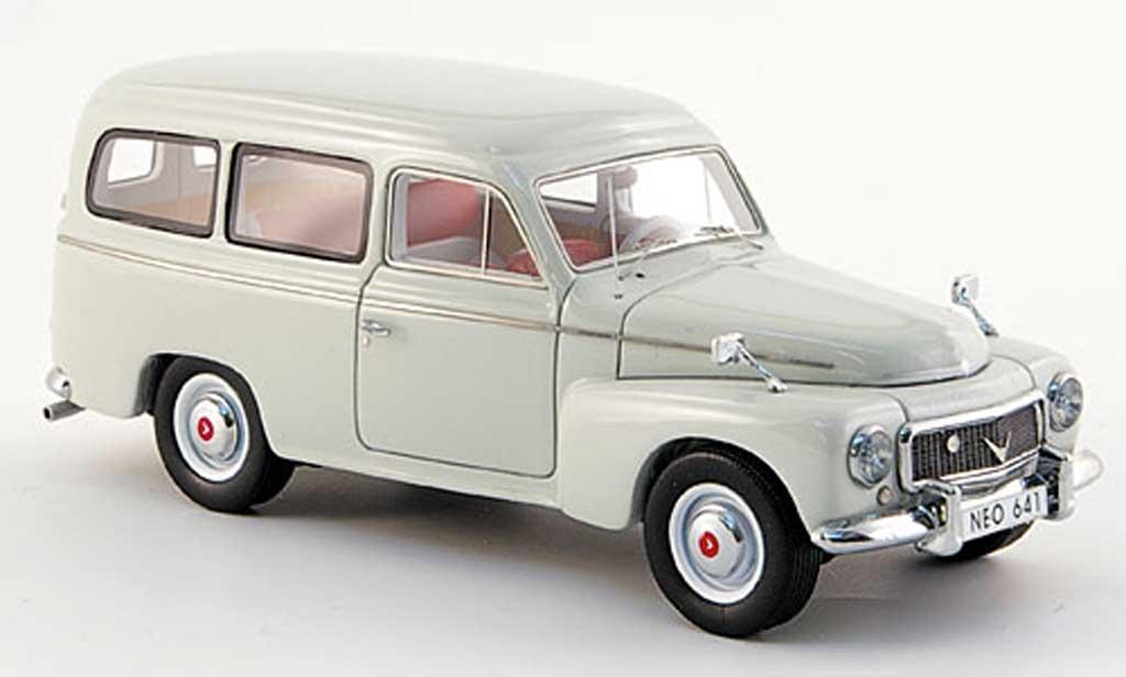 Volvo PV 445 1/43 Neo gris 1956 miniature