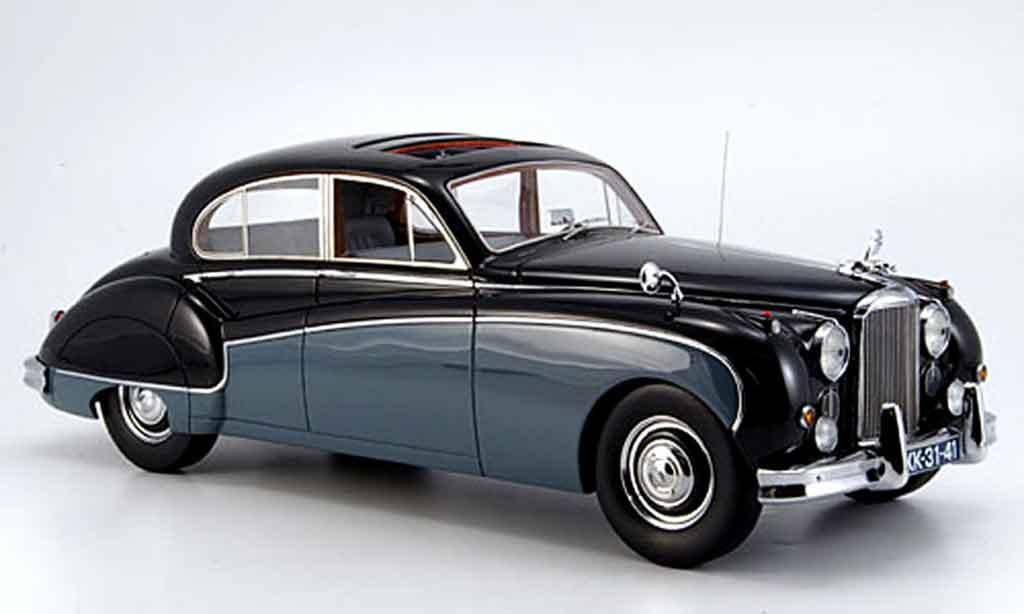 Jaguar MK 8 1/18 Neo noire grise 1957 miniature