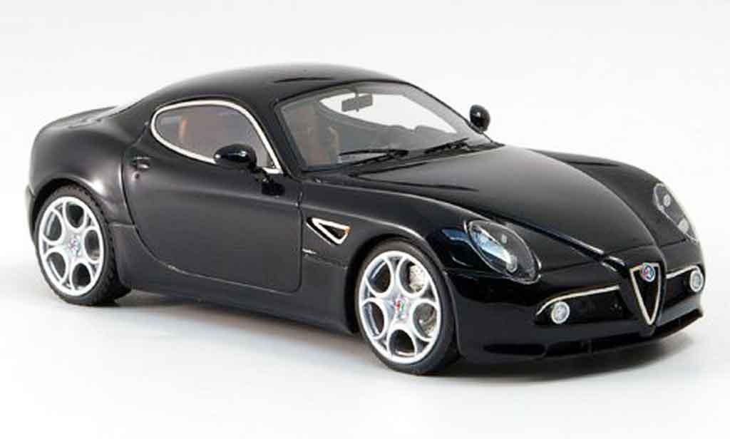 Alfa Romeo 8C Competizione 1/43 Look Smart black austellung frankfurt 2007 diecast