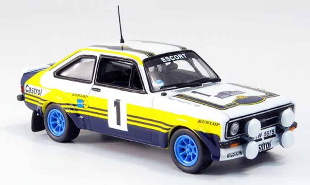 Ford Escort MK2 1/43 Vitesse No.1 Sieger Arcp. Rallye 1979 miniature