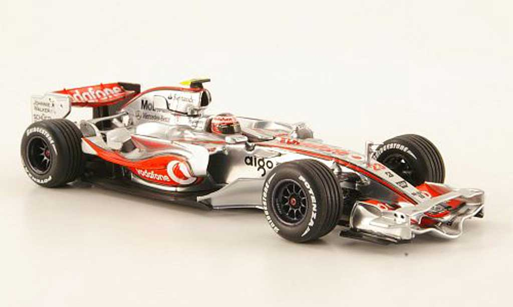 Mercedes F1 2008 1/43 Minichamps McLaren No.23 Vodafone F1 Showcar diecast