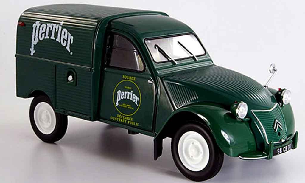Citroen 2CV 1/18 Norev ente kastenwagen perrier 1955 miniature