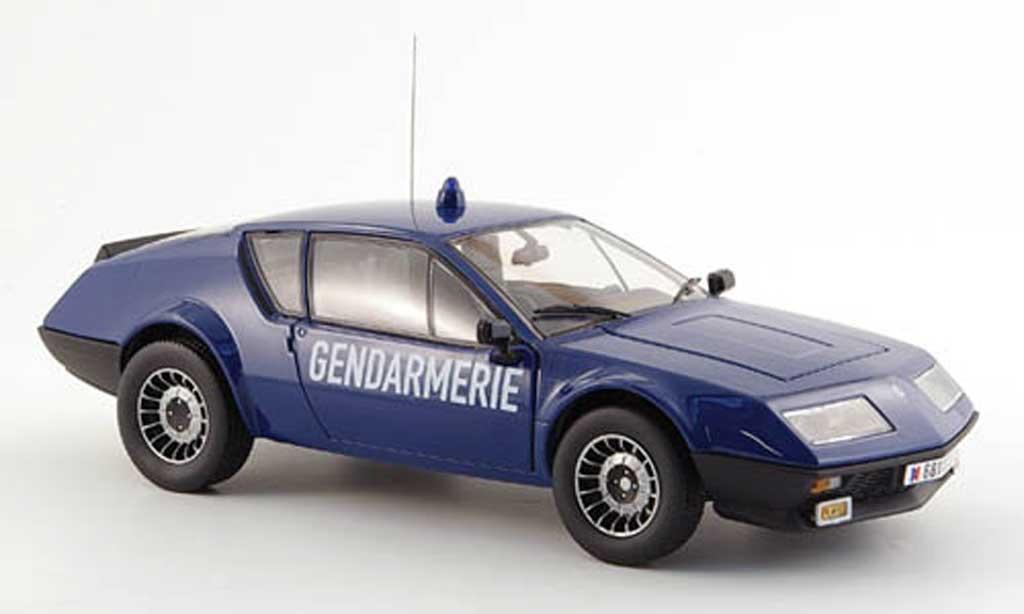 Alpine A310 1/18 Norev gendarmerie polizei frankreich 1981 miniature