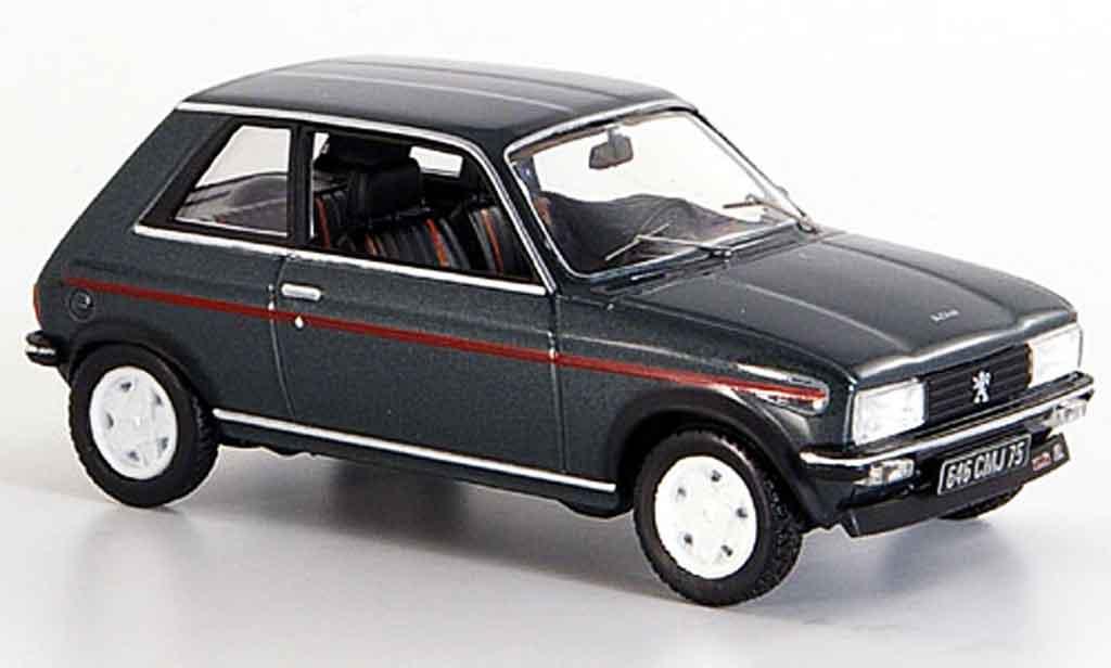 Peugeot 104 1/43 Norev zs2 grise 1979 miniature