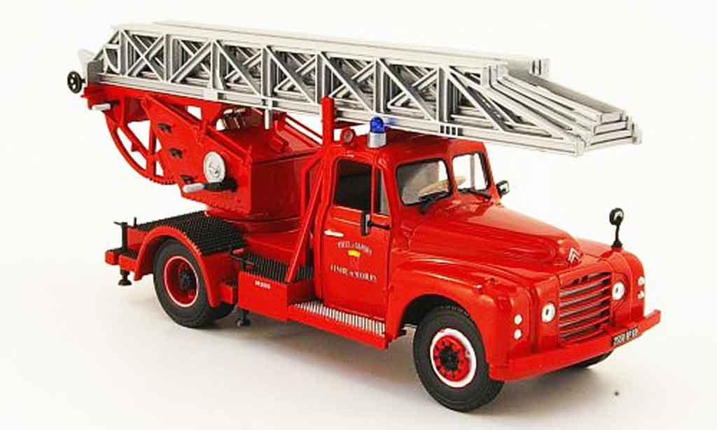 Citroen T46 1/43 Norev pompiers ville de givors pompier miniature