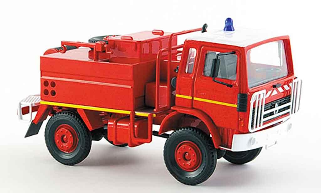 Renault RVI 1/43 Norev 95 130 pompier wassertankwagen