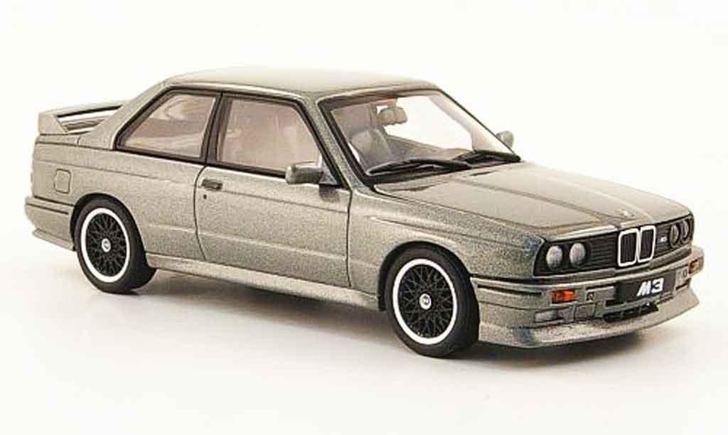 Bmw M3 E30 1/43 Autoart Evo Cecotto Edition grey 1989 diecast model cars