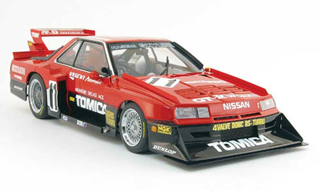 Nissan Skyline RS Turbo 1/18 Autoart no.11 tomica super silhouette 1983 miniature