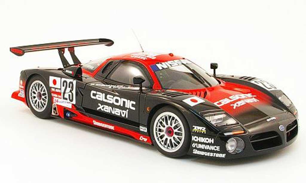 Nissan R390 1/18 Autoart gt1 no.23 calsonic 24h le mans 1997 miniature