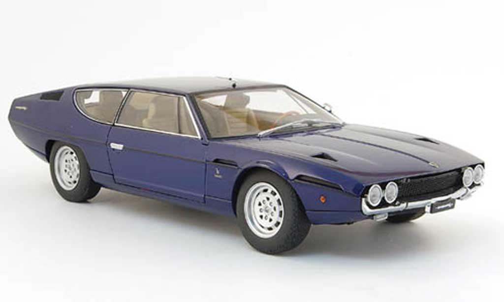 Lamborghini Espada 1/18 Autoart bleu 1968 diecast