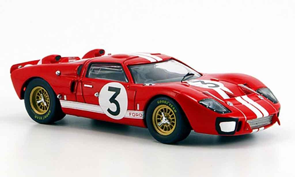 Ford GT 40 1/43 IXO MK2 No.3 D.Gurney J.Grant Le Mans 1966 miniature