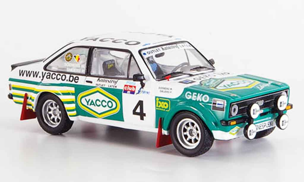 Ford Escort RS 1800 1/43 IXO No.4 Snijers Soenes Sieger SPA 2008 miniature